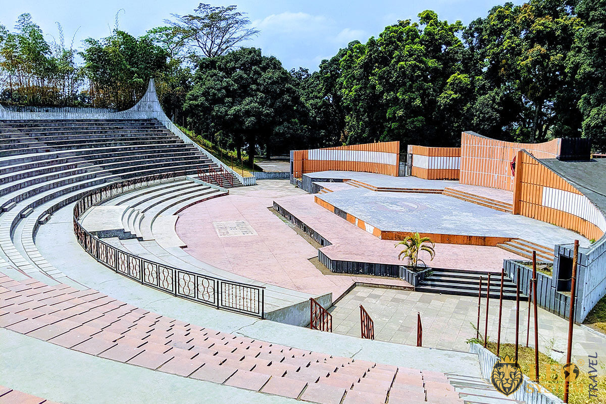 Theatre de Verdure, amphitheater in Presidential Park, city of Kinshasa