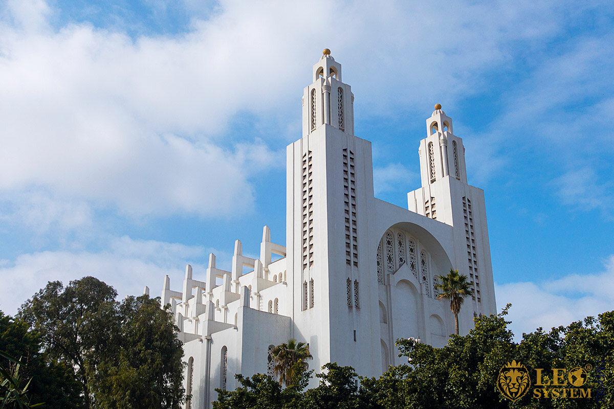 Image of Casablanca Cathedral, city of Casablanca, Morocco