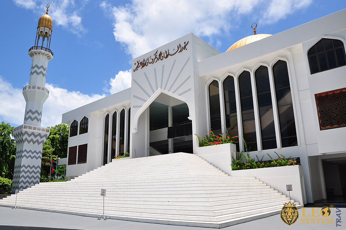 Grand Friday Mosque in Male, Maldives
