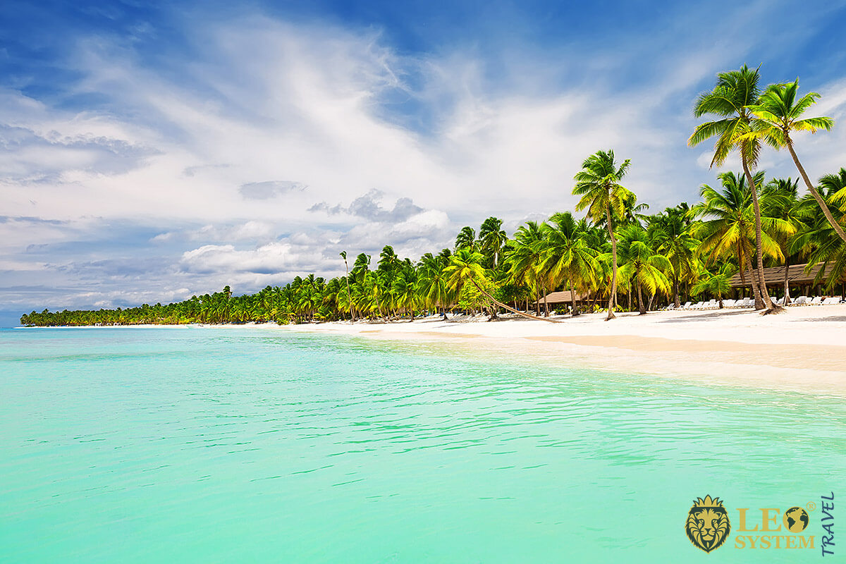 Gorgeous beach in Punta Cana, Dominican Republic