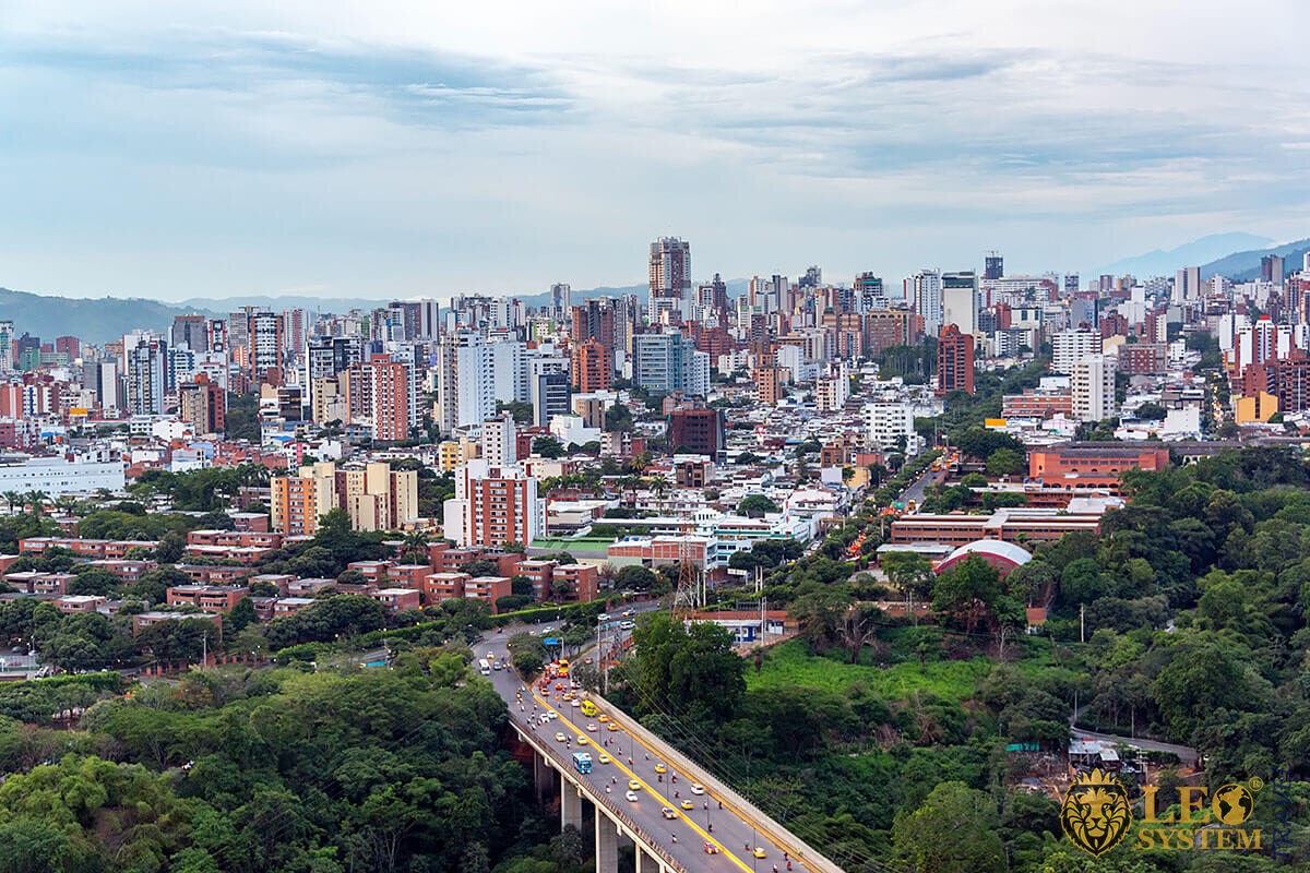 View of the city of Bucaramanga