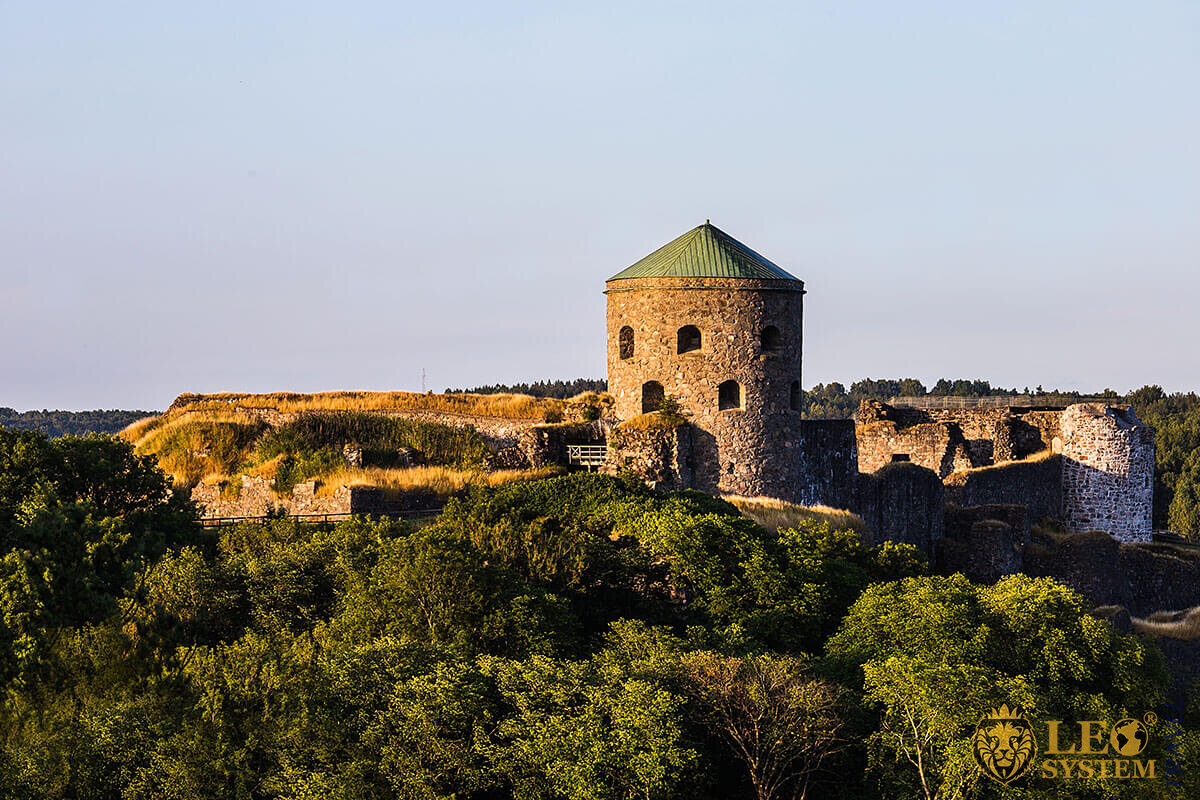 View of Bohus Fortress, Gothenburg, Sweden