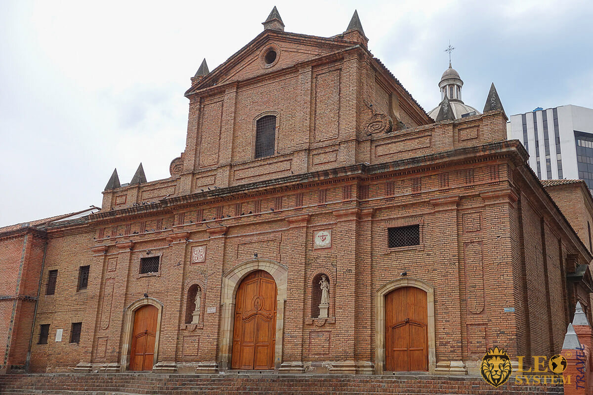 Church of San Francisco in Cali, Colombia