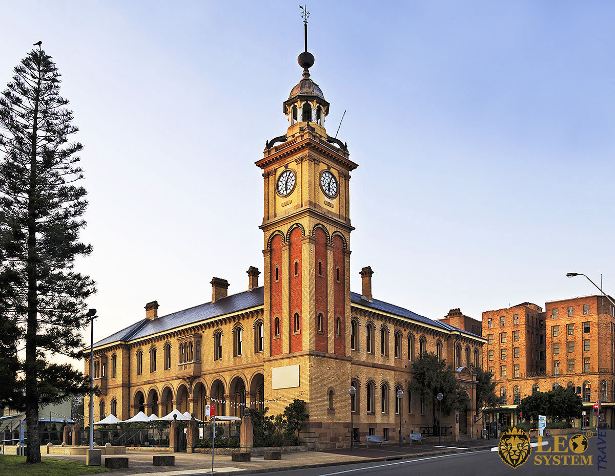 Image of a historic building in Newcastle, Australia