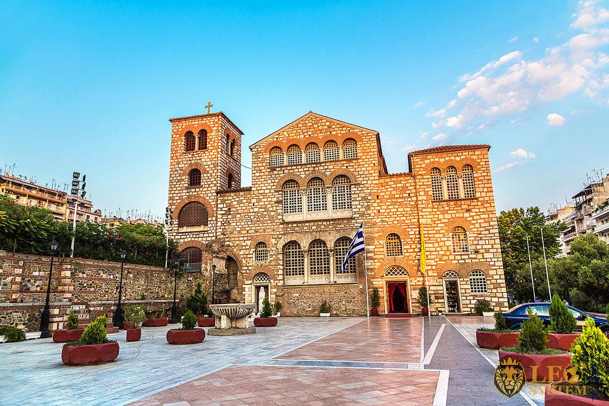 Image of Church of Saint Demetrius, city of Thessaloniki, Greece