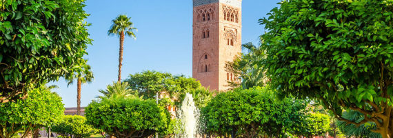 Travel to the City of Marrakesh, Morocco