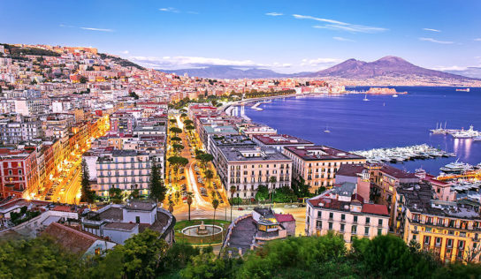 Travel to the City of Naples, Italy