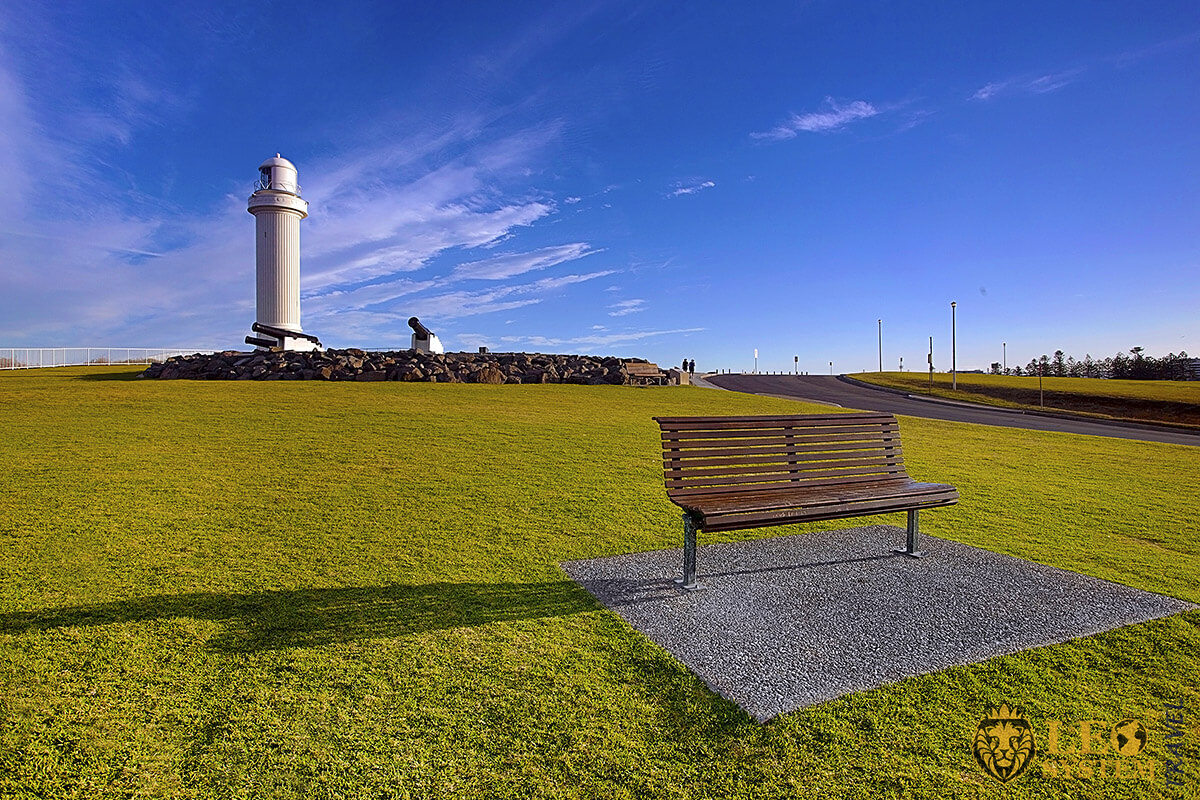 View of the Wollongong Lighthouse, Australia