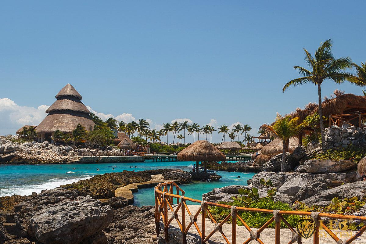 Magnificent Caribbean landscape, Mexico