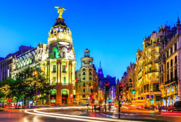Travel to the City of Madrid, Spain