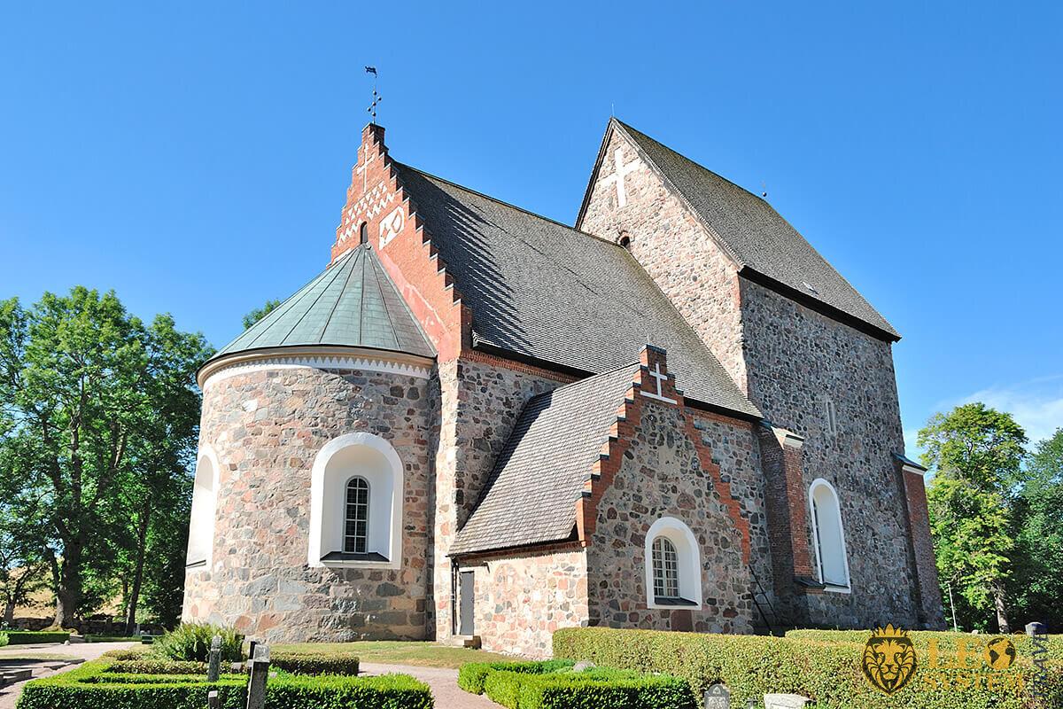 Image of Church in Uppsala, Sweden