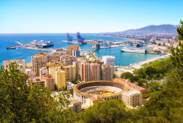 Travel to the Port City of Malaga, Spain