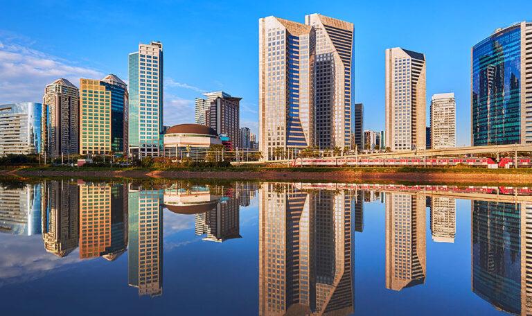 Sao Paulo Buildings Skyline - Brasil