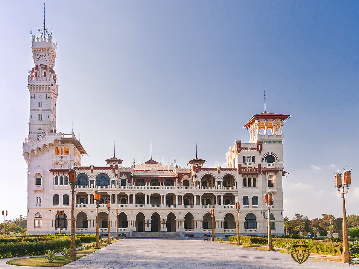 Nice view of Montaza Palace in Alexandria