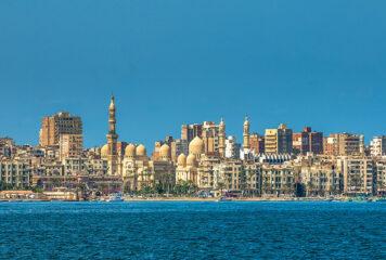 Travel to the City of Alexandria, Egypt
