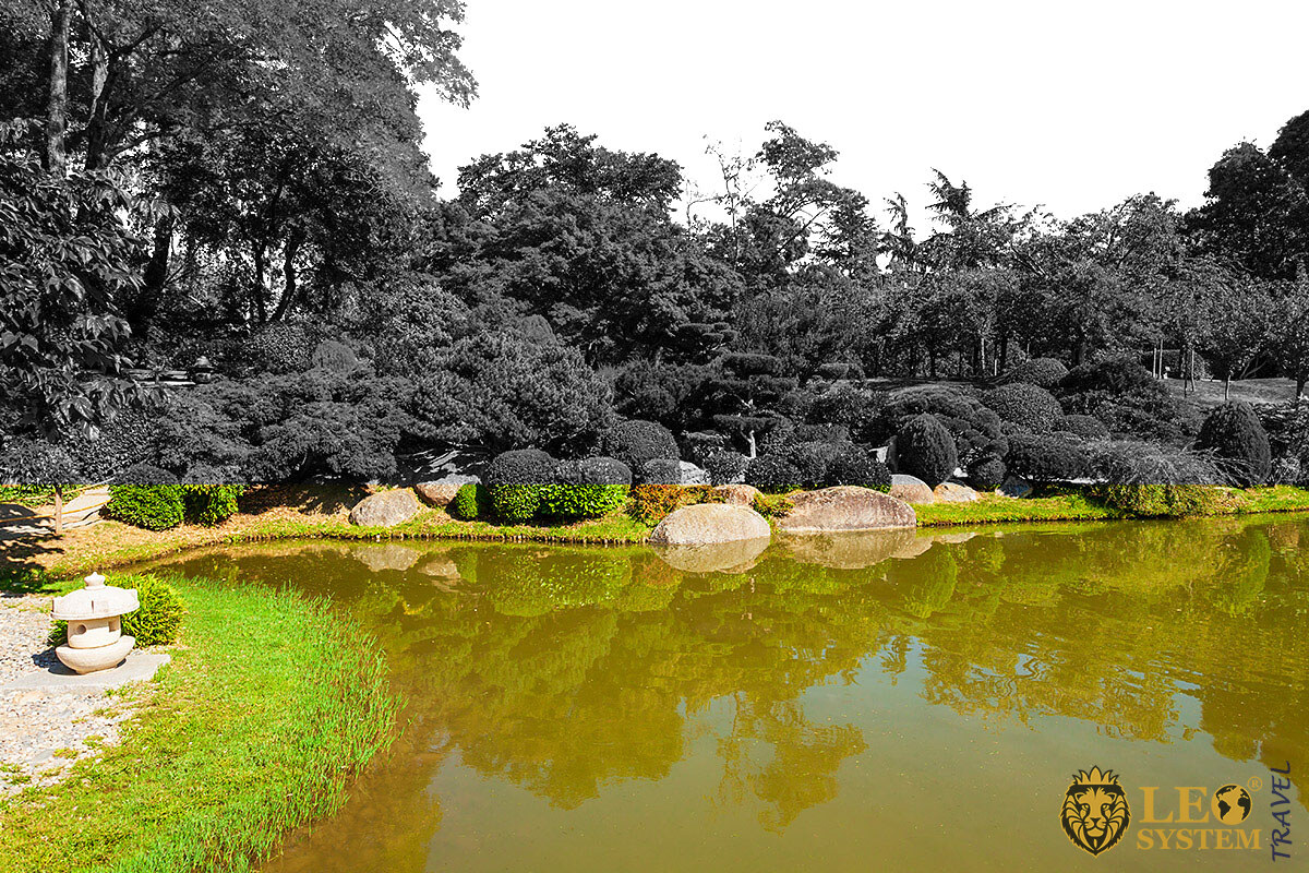 Image of the Jardin des Plantes botanical garden, Toulouse, France