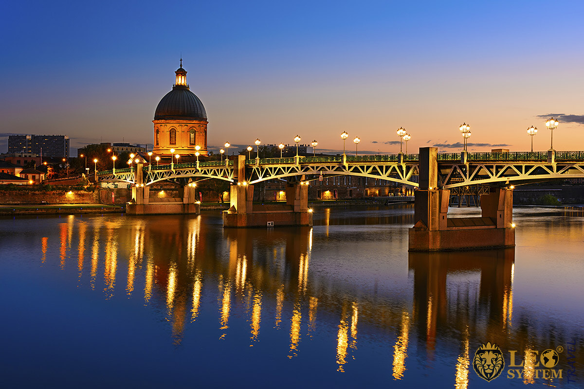 Travel to the City of Toulouse, France