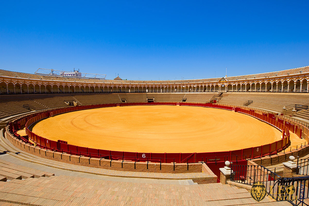 Image of the Bullring in Seville, Spain