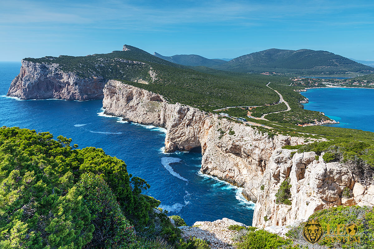 Image of beautiful nature and coastline, Sardinia, Italy