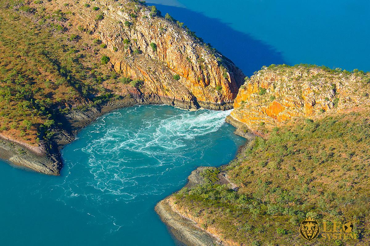 Image of natural landmark Horizontal Falls, Kimberley Region
