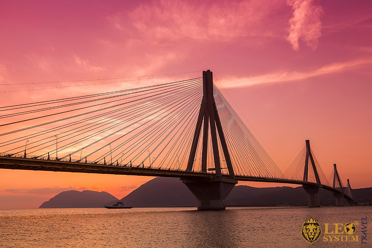 Image of the Rion-Antirion Bridge, Greece
