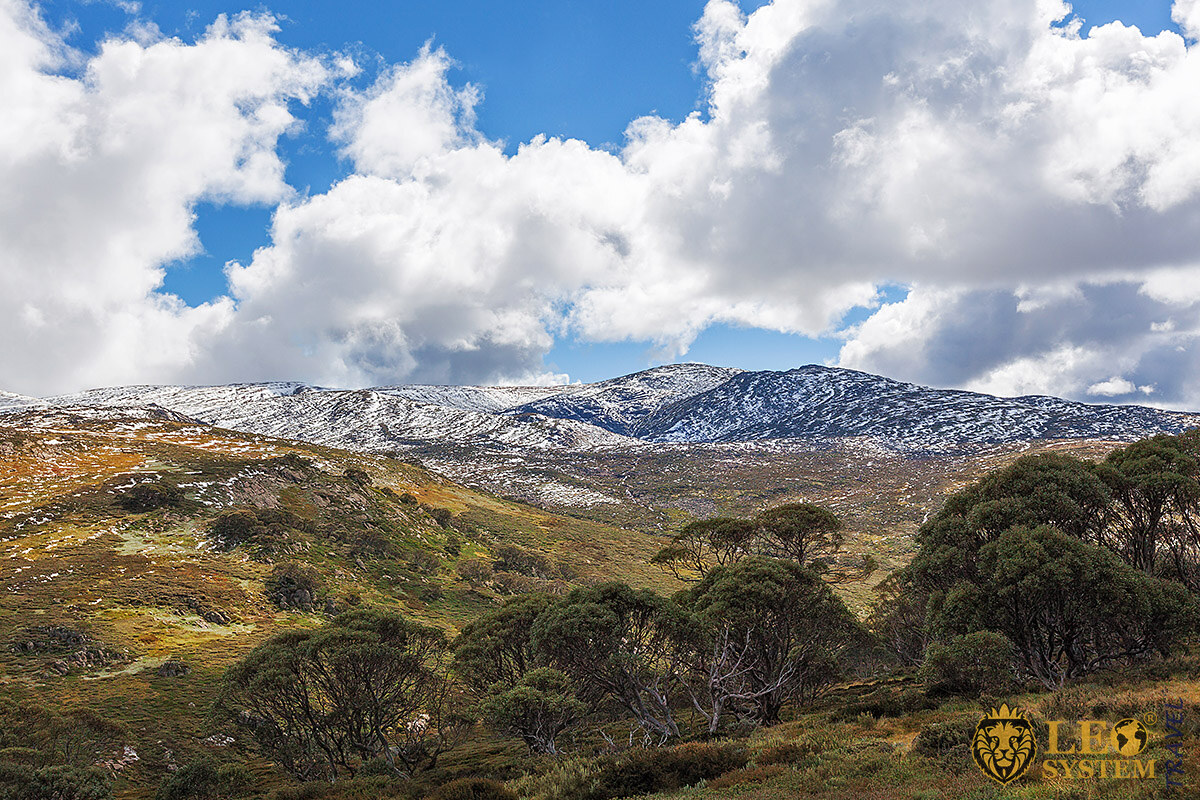 View of Mount Kosciuszko, New South Wales, Australia