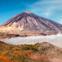 Panoramic view of Mount Teide, Tenerife, Spain