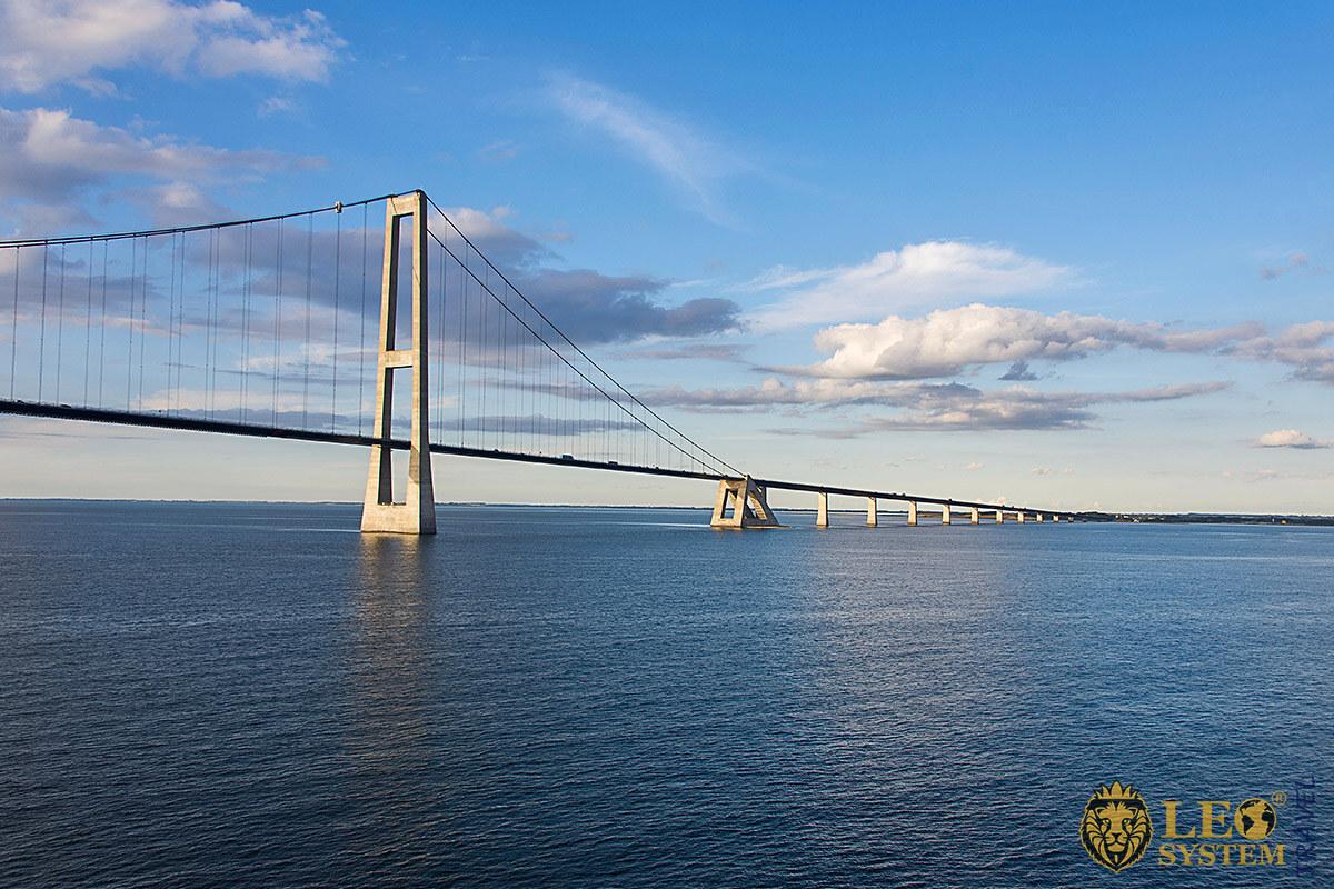 Image of The Great Belt Bridge, Denmark
