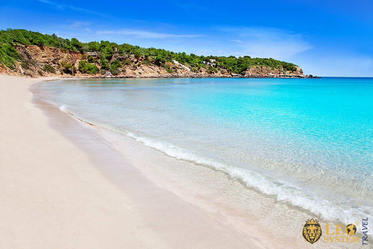 Magnificent views of nature and the sea, Ibiza, Spain