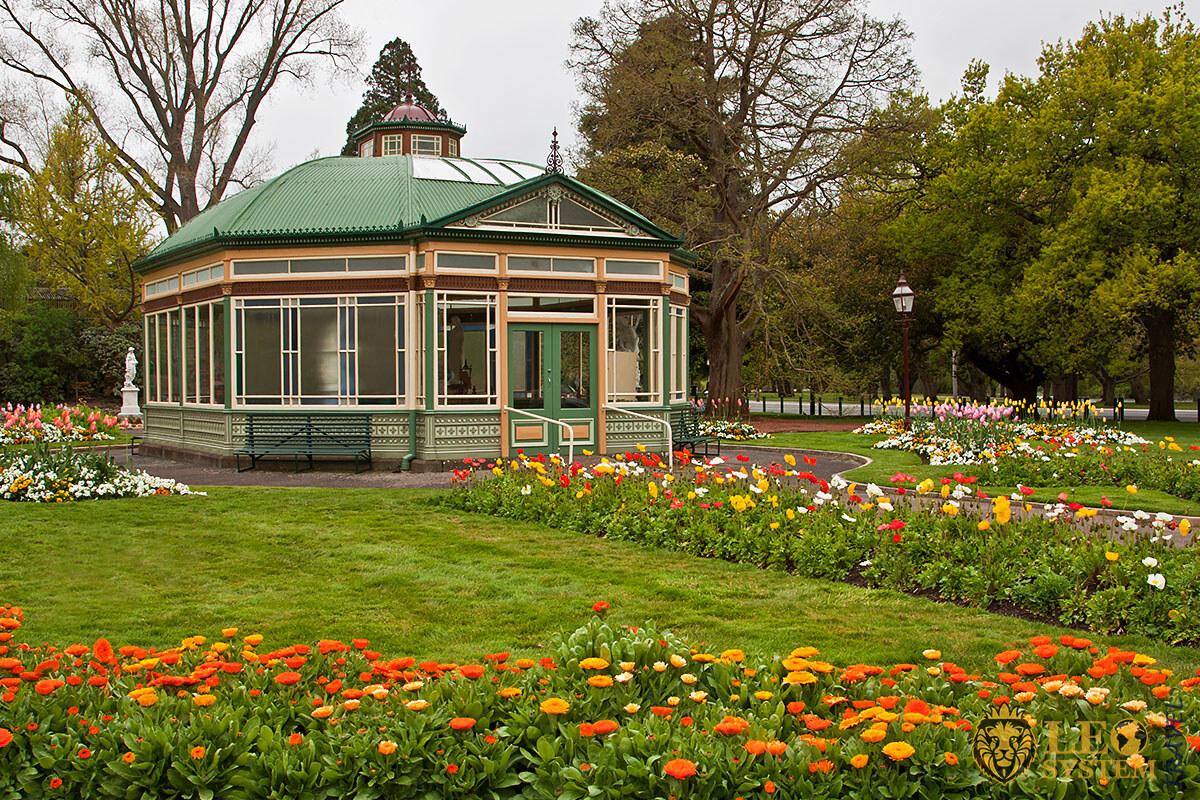 Image of the Botanical Garden in Ballarat, Australia