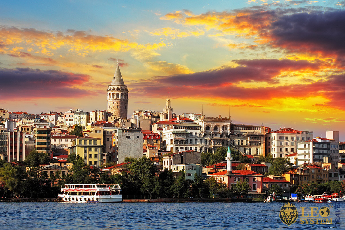 Image of urban buildings in Istanbul city
