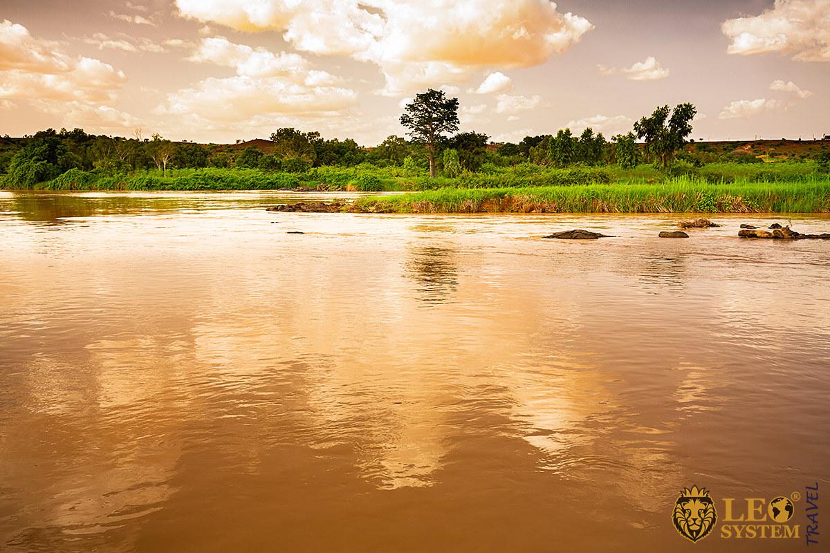 Image of Niger River, Nigeria, Africa