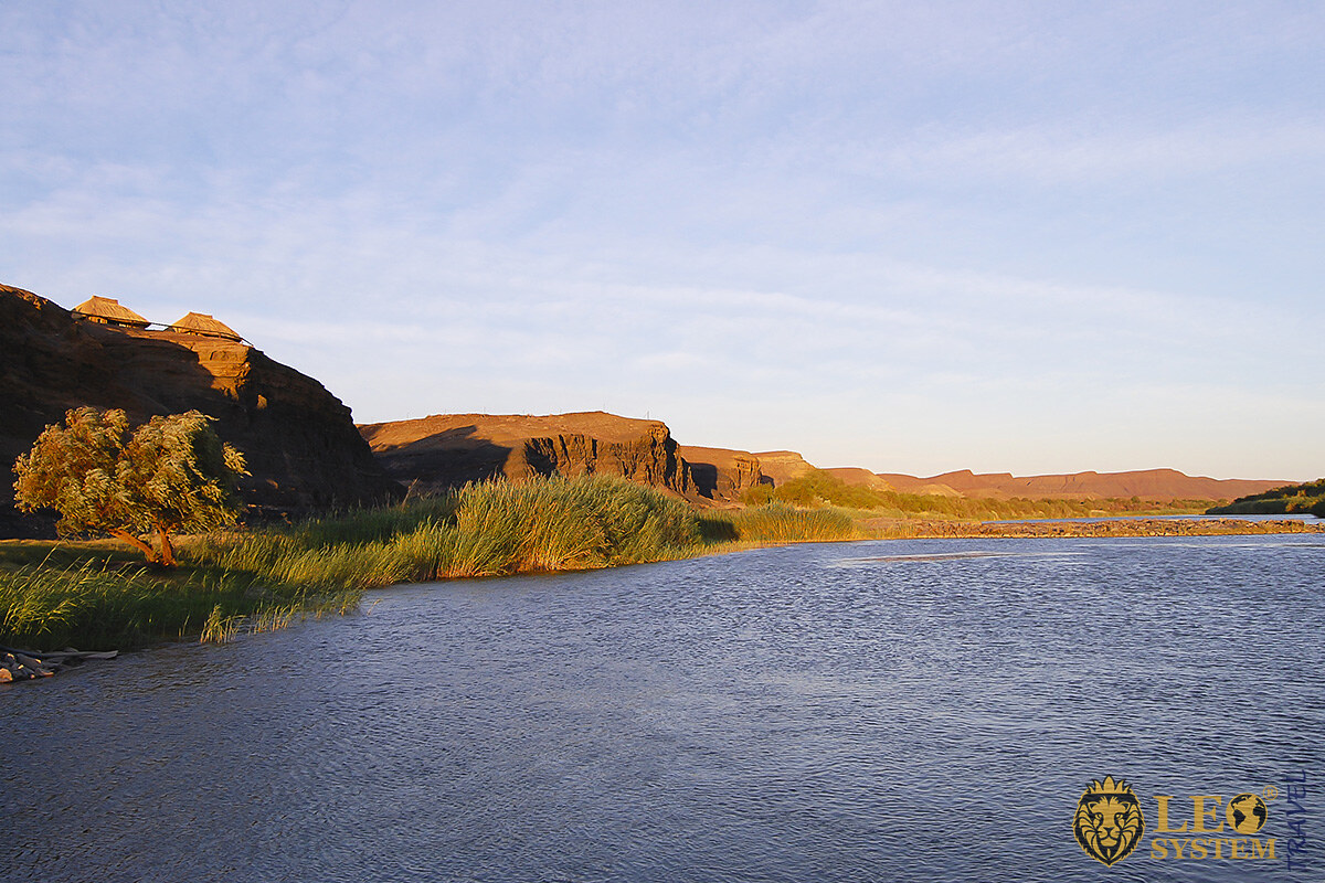 View of the Orange River, South Africa