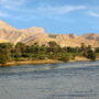 View of the Nile River, Continent of Africa